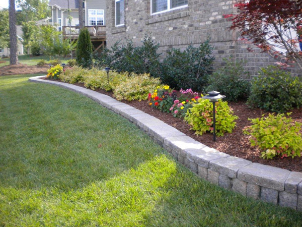 ... Floral Landscaping Raleigh NC ... - Photo Gallery Hicks Landscape Contractors Raleigh NC