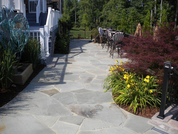 Backyard landscaping Raleigh NC