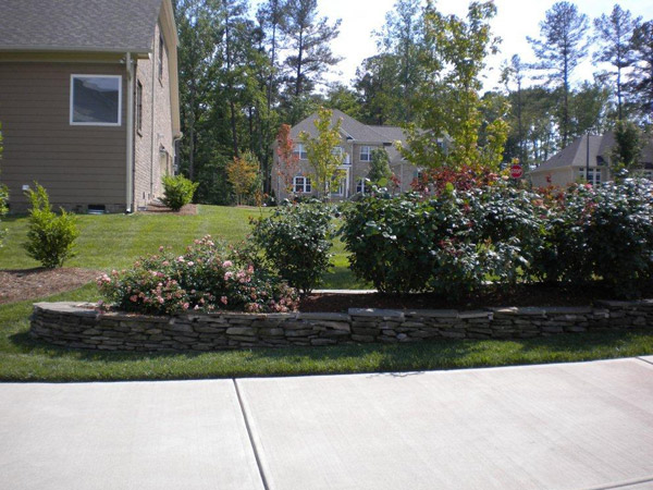 Simple landscaping Raleigh