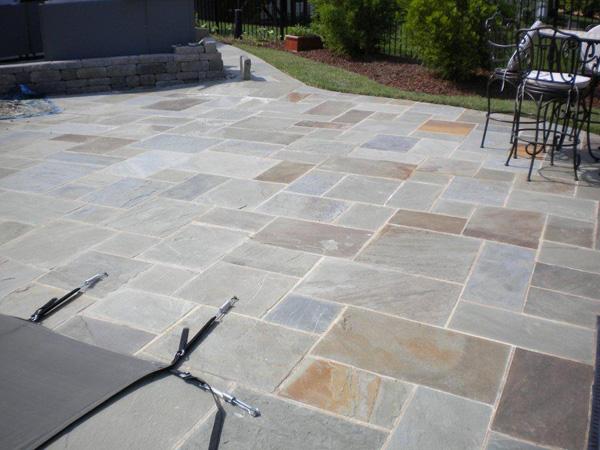 Stone patios Raleigh NC
