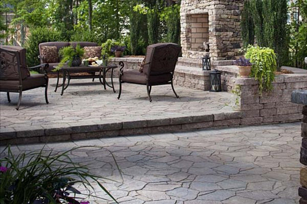 Hardscaping for outdoor living spaces