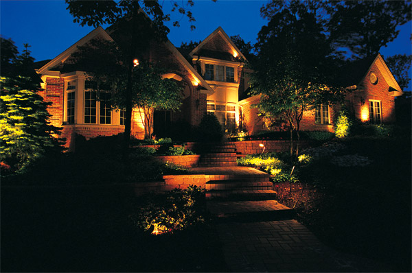 Outdoor lighting designs Raleigh