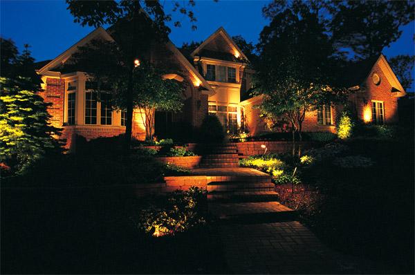 Outdoor lighting designs Raleigh
