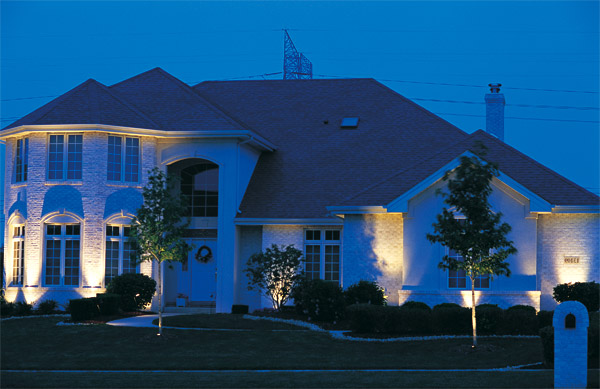 Outdoor lighting design Raleigh NC