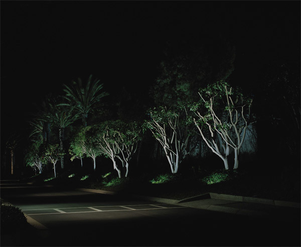 Commercial outdoor lighting design Raleigh