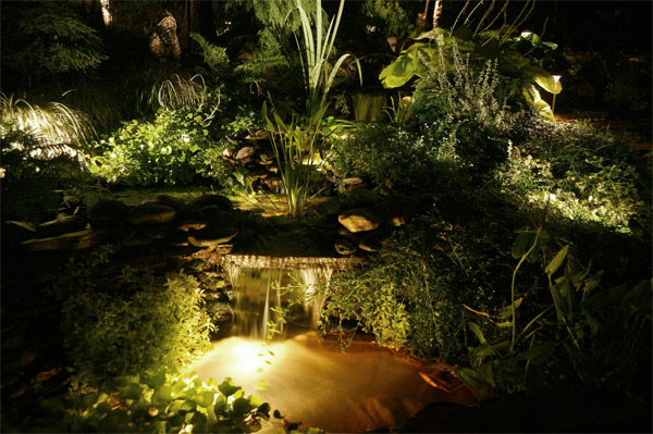 Garden lighting Raleigh