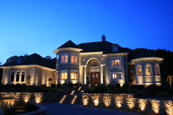 Extravagant outdoor lighting Raleigh