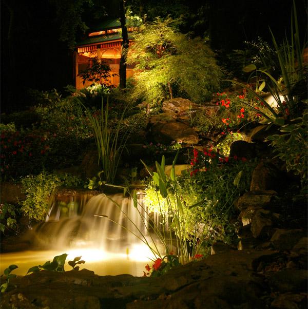 Raleigh garden lights