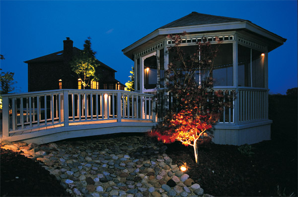 Gazebo lighting Raleigh