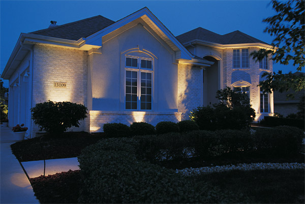 Exterior home lighting Raleigh NC